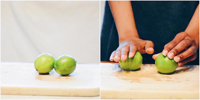 limes Grapefruit Agua Fresca