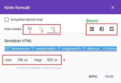 Cara membuat google form untuk formulir pendaftaran