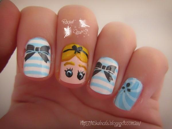 Nail art Alice