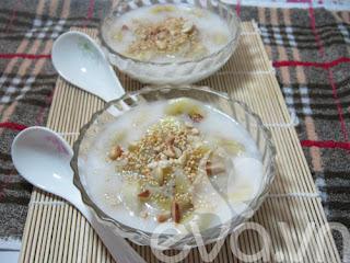 Chè chuối nước cốt dừa ngon miệng
