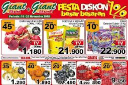 Katalog Promo Giant Weekday 19 - 25 November 2018
