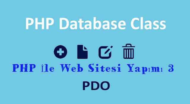 php,pdo ile web site arama