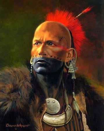 Native American Indian Pictures Ottawa Warrior