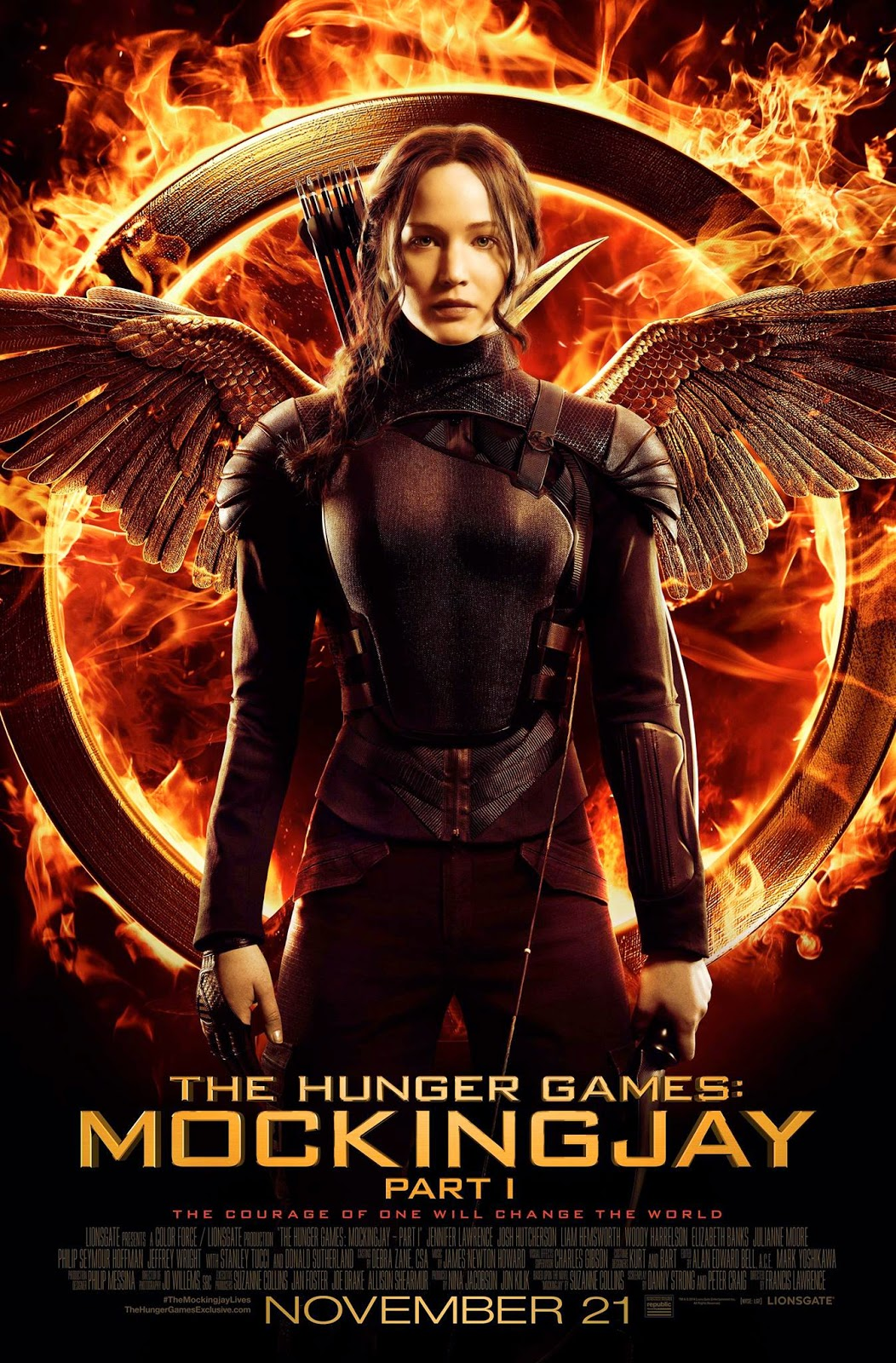 The Hunger Games Mockingjay Part 1 เกมล่าเกม 3  เดอะ ฮังเกอร์เกมส์ ม็อคกิ้งเจย์ พาร์ท1 [HD]