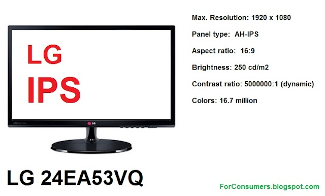 LG 24EA53VQ IPS LED monitor review