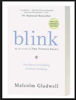 capa do livro Blink do autor Malcolm Gladwell. Imagem é um link para compra