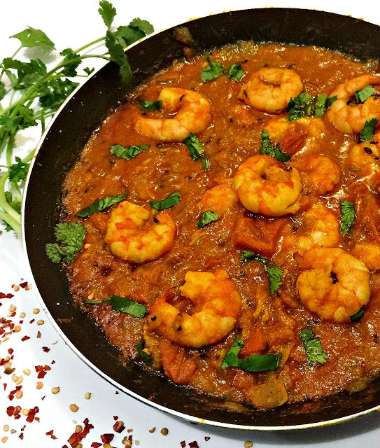 Prawn Masala | Shrimp Gravy Recipe