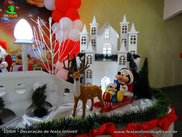Decoração de festa infantil tema de Natal - Aniversário