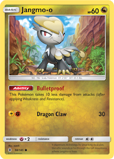 Jangmo-o Guardians Rising Pokemon Card