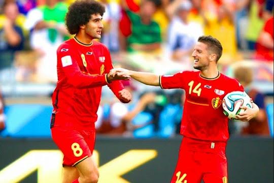 [VIDEO] Belgia - Aljazair (Piala Dunia 2014 Grup H)