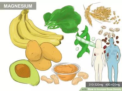 manfaat mineral magnesium untuk tulang