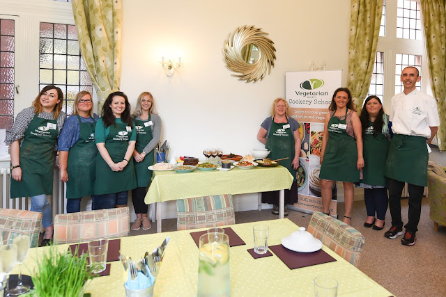 Vegan Toolkit course at the Vegetarian Society cookery school