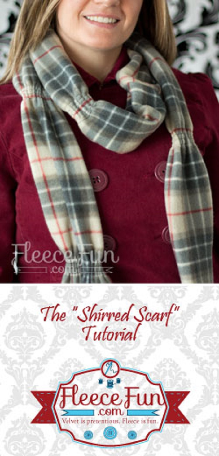 Parade Scarf or Shirred Scarf