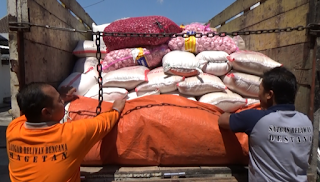 BPBD Kirim 3,6 Ton Bantuan Logistik Ke Lombok NTB