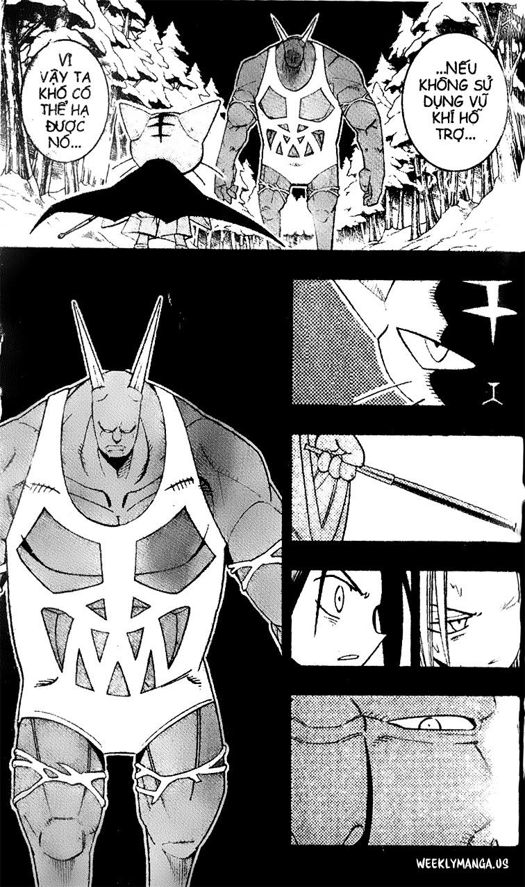 Shaman King [Vua pháp thuật] chap 172 trang 15