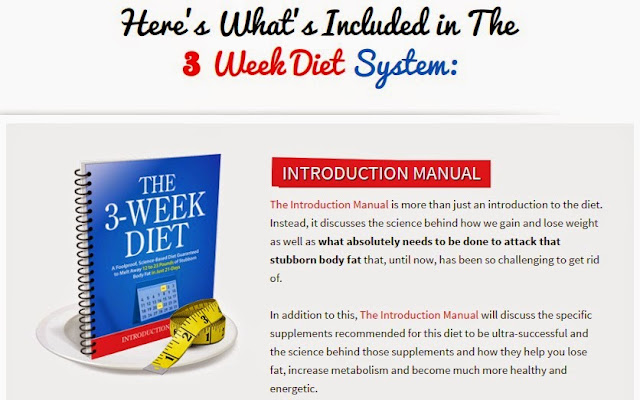 3 week diet plan download free.