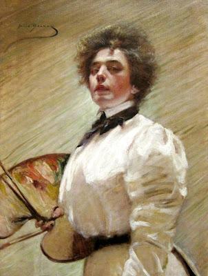 Autoportrait à la Palette (1906), Alice Pike Barney