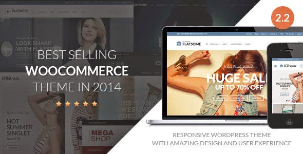 Flat v2.2 Themeforest Responsive WooCommerce WordPress Theme