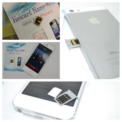 Sim ghep dien thoai  iPhone 5 lock 64gb