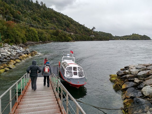 Embarcadero en Fiordo Puyuhuapi, Chile