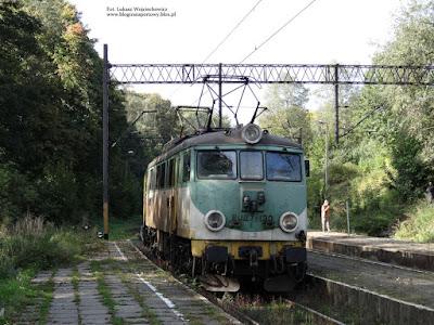 EU07E-130 z PKP Cargo na stacji Rydułtowy