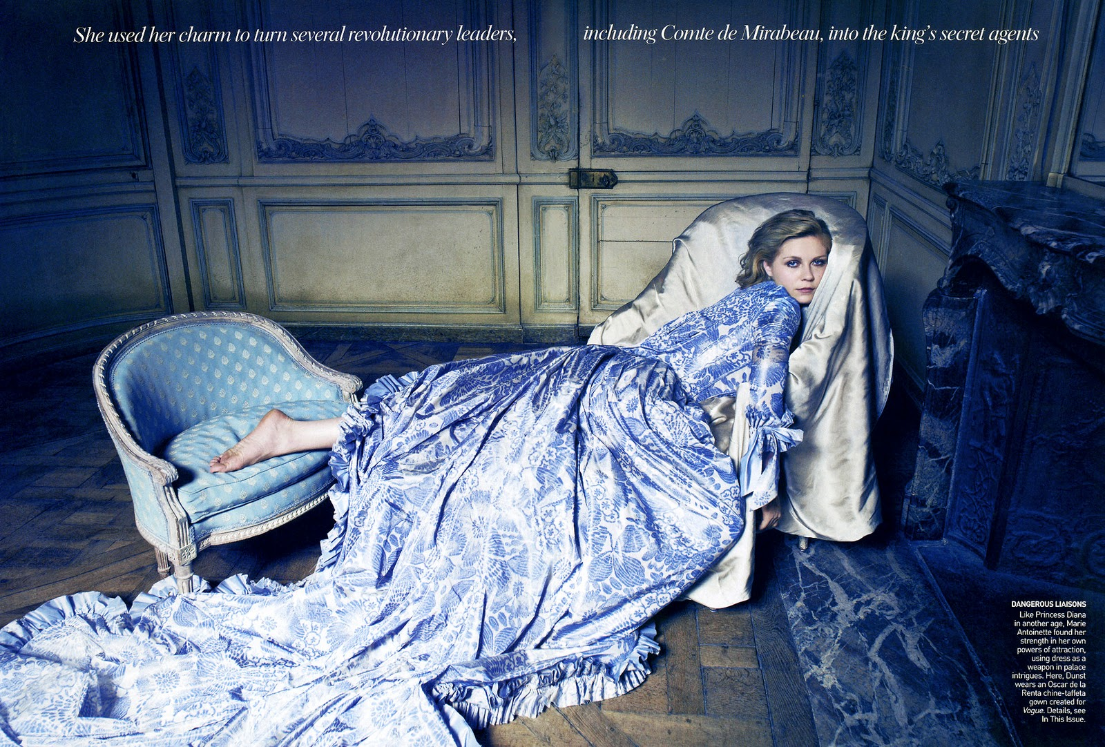 chanel after coco coup de coeur vogue september 2006 marie antoinette. Black Bedroom Furniture Sets. Home Design Ideas