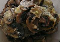 Karkówka wieprzowa z pieczarkami