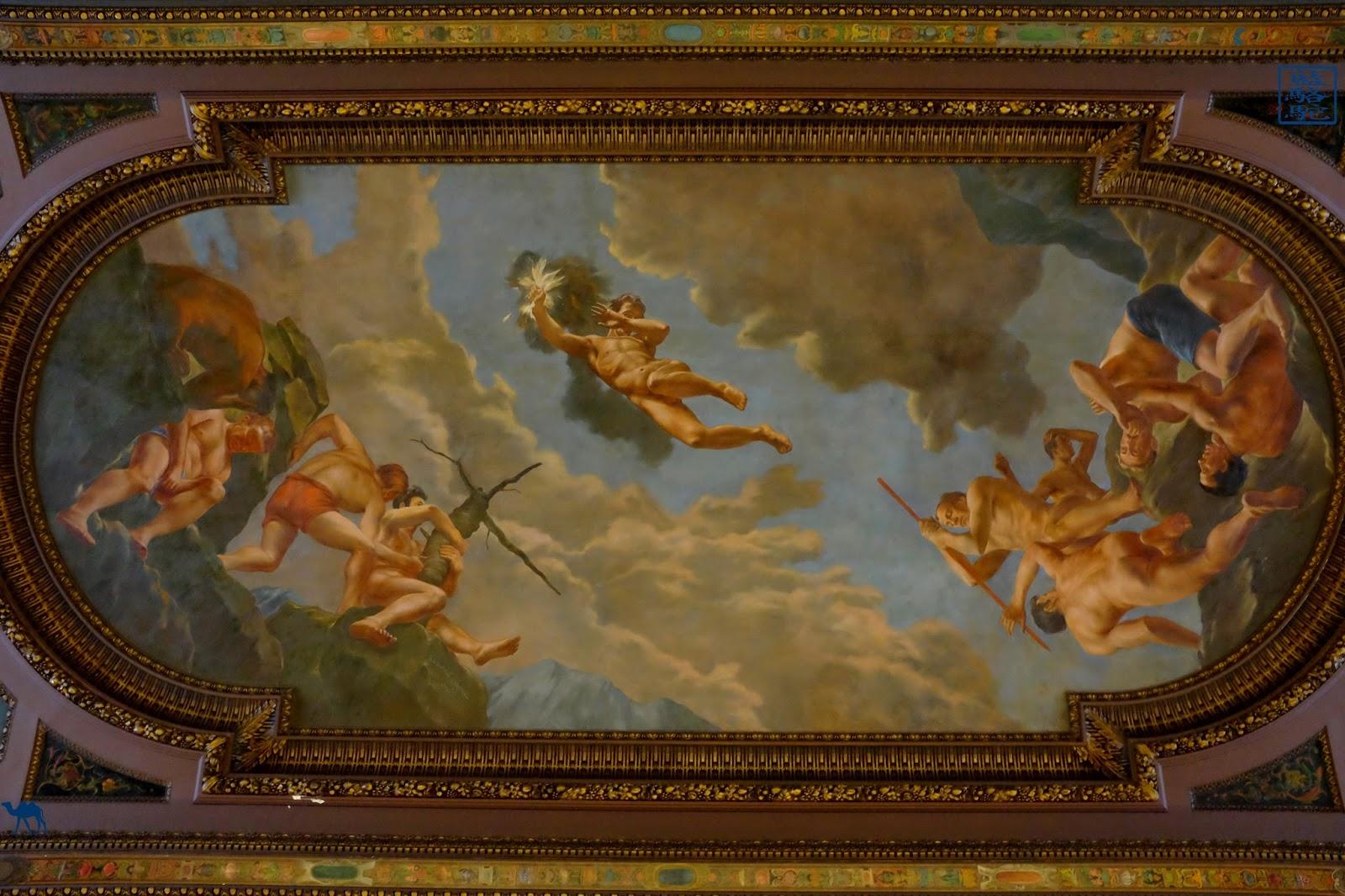 Le Chameau Bleu - Plafond de NYPL