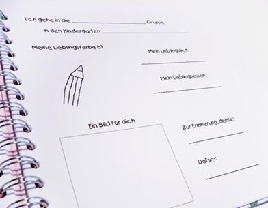 divarah bloggt freundebuch f r den kindergarten. Black Bedroom Furniture Sets. Home Design Ideas