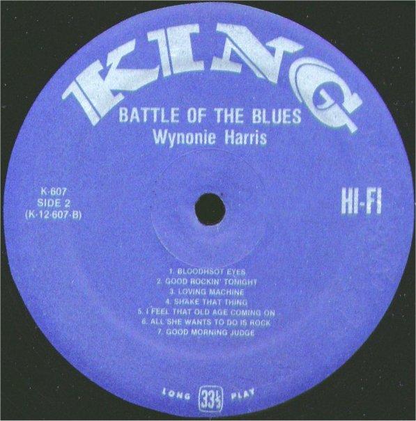 Wynonie Harris Bloodshot Eyes Lovin Machine