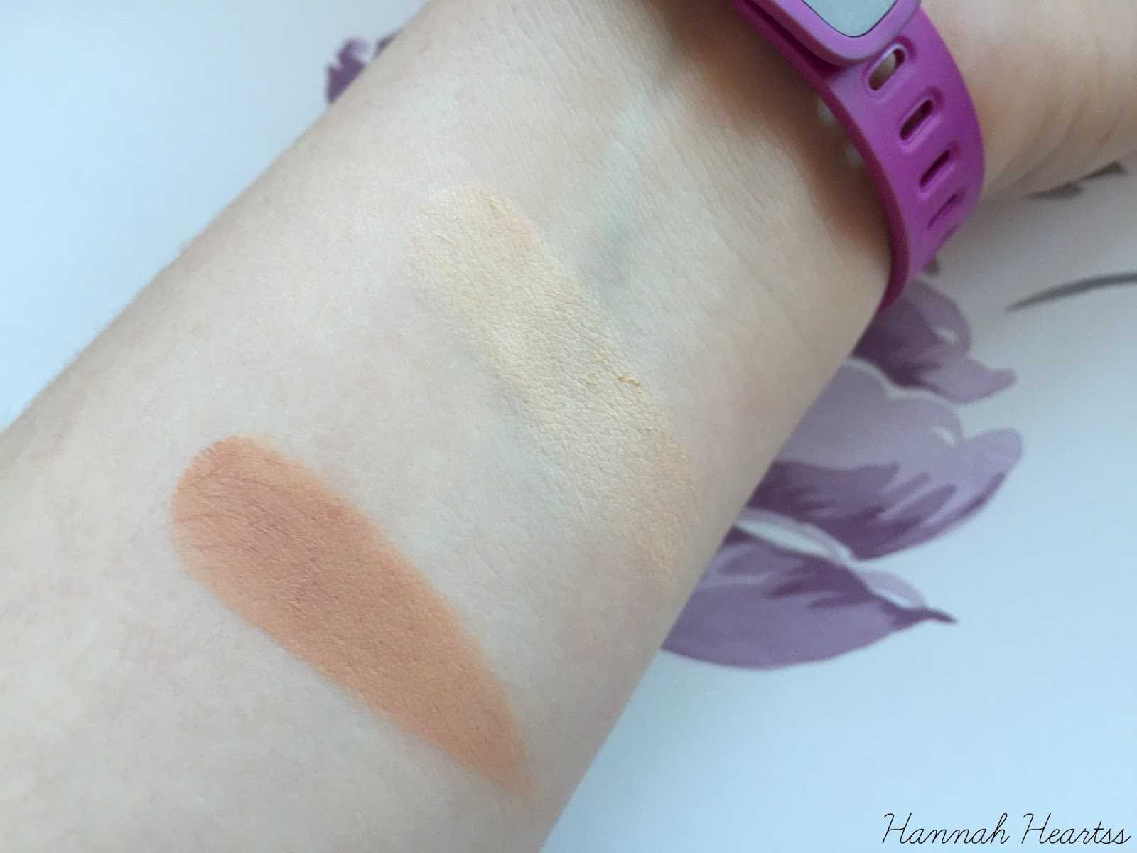 Sienna X Cream to Powder Bronzer and Illuminator Swatches