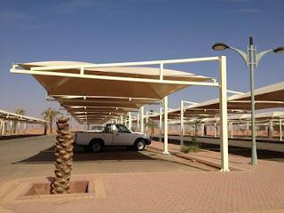 اعمال مظلات سيارات وافضل التصاميم