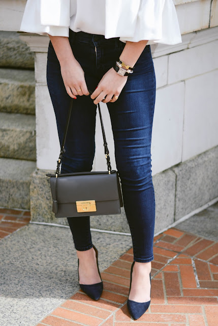 true religion halle jeans and kate spade licorice pumps