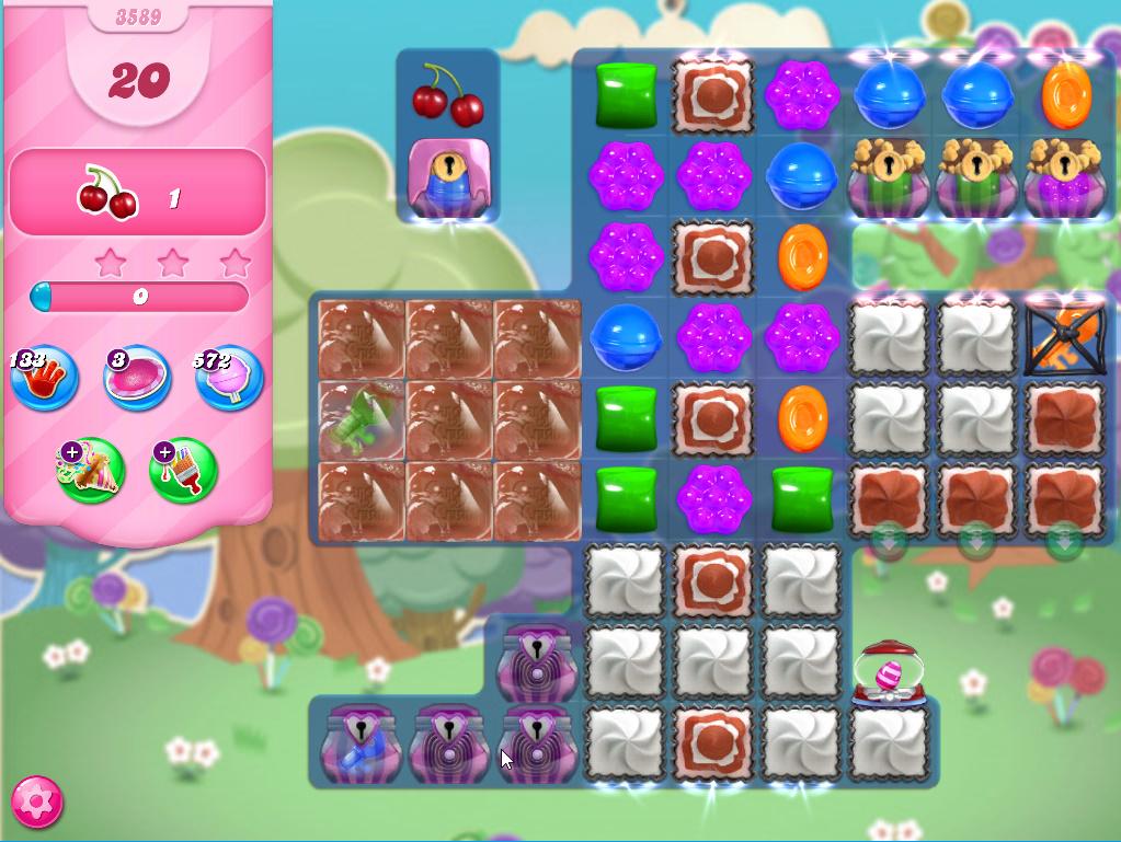 Candy Crush Saga level 3589