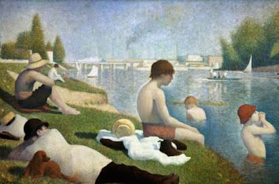 Les baigneurs à Asnières - Georges Seurat