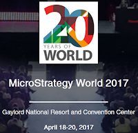MicroStrategy World 2017