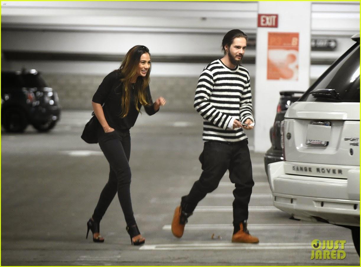 justjaredcom  Tom Kaulitz Noite de encontro no cinema