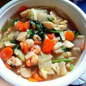 Resep cara Membuat Capcay Seafood