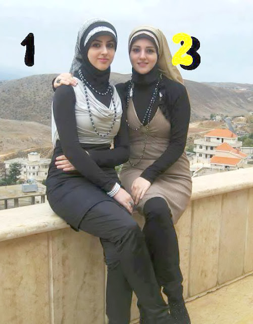 Select Your Choice In Two Arab Girls