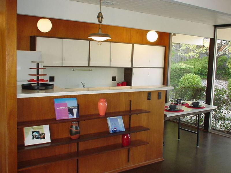 Braxton and yancey mid century modern kitchens - Mid century modern kitchen ...