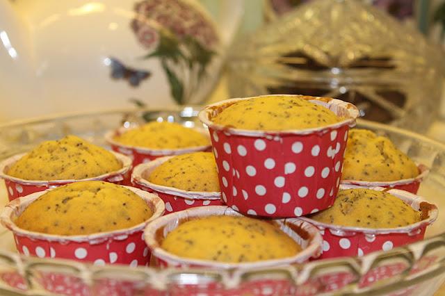Orange Poppy Muffin