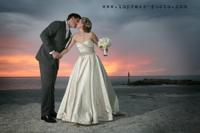 elegant formal captiva island wedding at sunset