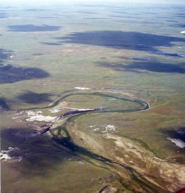 Landforms in the World: Fluvial Landform (12.Exhumed river ...