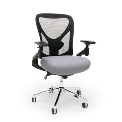 Mesh Back Big And Tall Office Chair for 24 Hour Use