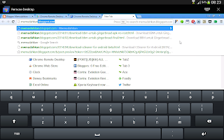 Keyboard chrome remote desktop