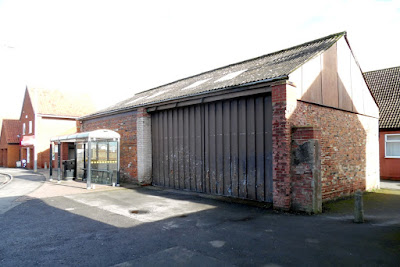 Under threat of demolition - the building within the Brigg Conservation Area that North Lincolnshire Council uses to store the market stalls - see Nigel Fisher's Brigg Blog