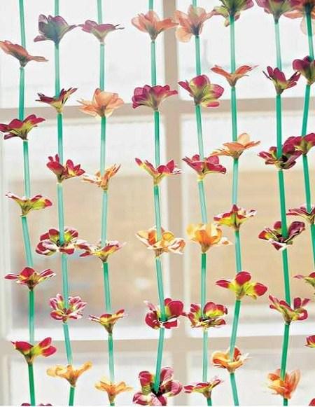 9 Macam cara membuat bunga dari sedotan unik dan simple