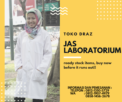 harga jas laboratorium lengan panjang tahun 2019