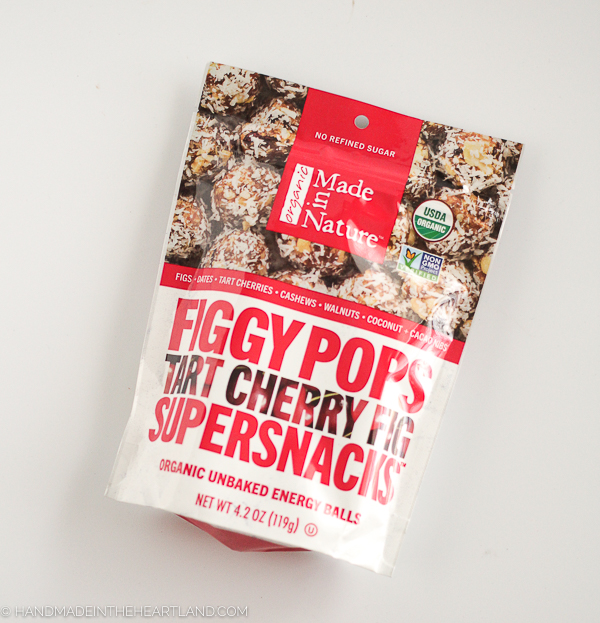 Figgy Pop Made in Nature snacks