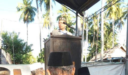 Dr. Ir. H. Marjani Sultan M.Si, Khutbah, Idul Adha 1438 H ,Di ,Barugaia
